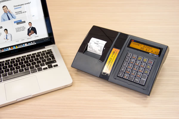 Kasa fiskalna Posnet Bingo HS EJ - Komunikacja on-line z komputerem
