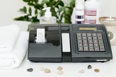 Kasa fiskalna Posnet Bingo HS EU - Posnet Bingo HS EU w gabinecie kosmetycznym
