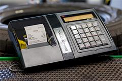 Kasa fiskalna Posnet Bingo XL - Posnet Bingo XL w wulkanizacji