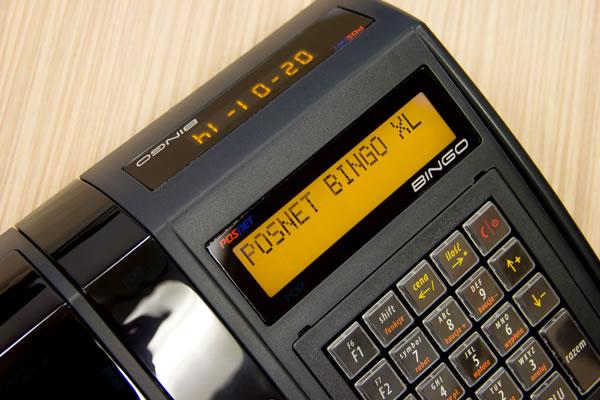 Kasa fiskalna Posnet Bingo XL - 2 czytelne wyświetlacze – nabywcy i kasjera