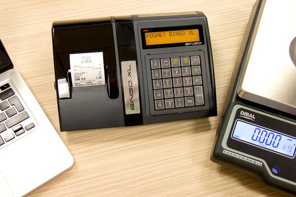 Kasa fiskalna Posnet Bingo XL - Współpracuje z kilkoma urządzeniami równocześnie