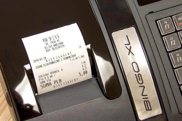 Kasa fiskalna Posnet Bingo XL - Precyzyjne, 40-znakowe nazwy produktów lub usług