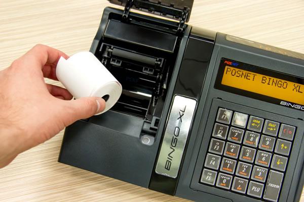 Kasa fiskalna Posnet Bingo XL - Nowoczesny i wydajny mechanizm drukujący